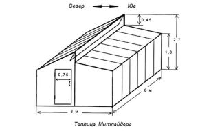 Порядок строительства теплицы по митлайдеру
