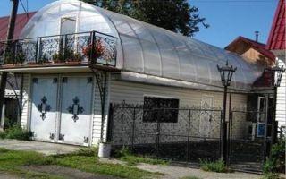 Как сделать теплицу на крыше гаража или дома