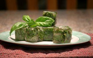 Как сохранить базилик на зиму с наименьшими потерями аромата: 3 способа