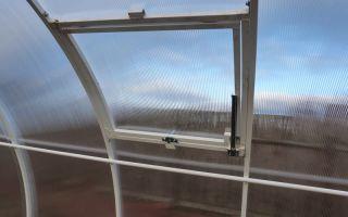 Как сделать автоматическую форточку для теплицы из поликарбоната