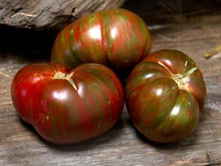 Характеристика томата полосатый шоколад: отзывы и фото0