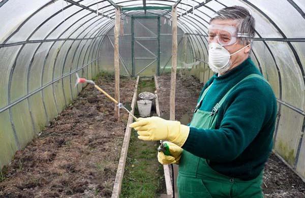 подготовка земли в теплице весной перед посадкой
